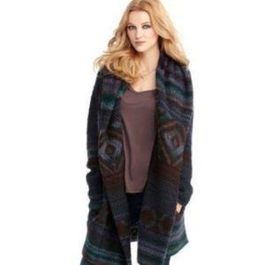 Rachel Roy oversized sweater coat